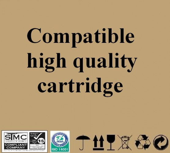 Compatible Ricoh type 1250D, cartridge