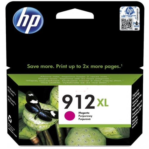 HP printcartridge magenta (3YL82AE, 912XL)