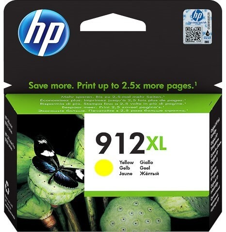 HP printcartridge yellow (3YL83AE, 912XL)
