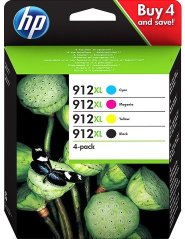 HP printcartridge multipack (3YP34AE, 912XL)