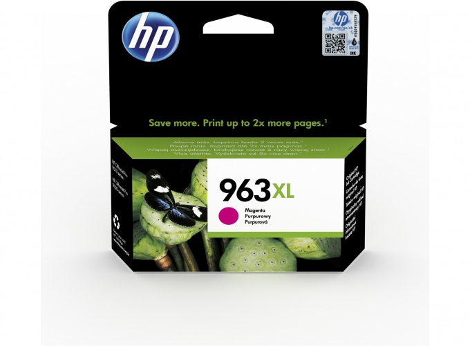 HP printcartridge magenta (3JA28AE, 963XL)