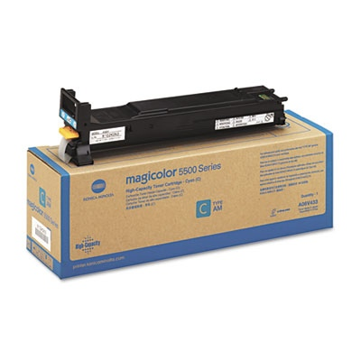 Konica-Minolta Cartridge MC5550 Cyan 6k LC (A06V452)