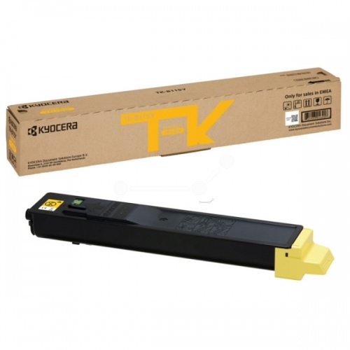 Kyocera toner cartridge yellow (1T02P3ANL0, TK8115Y)