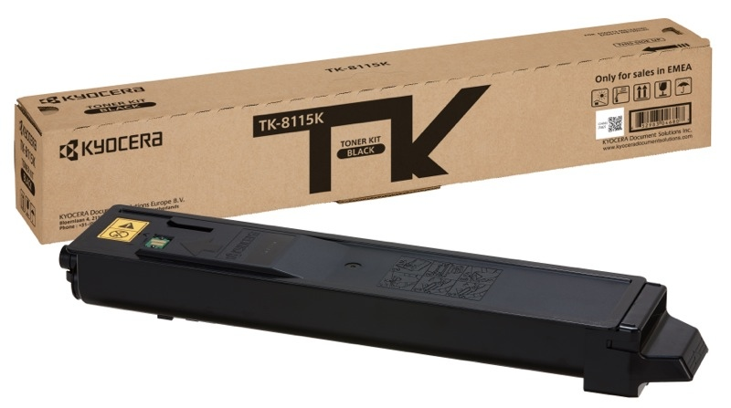 Kyocera toner cartridge black (1T02P30NL0, TK8115K)