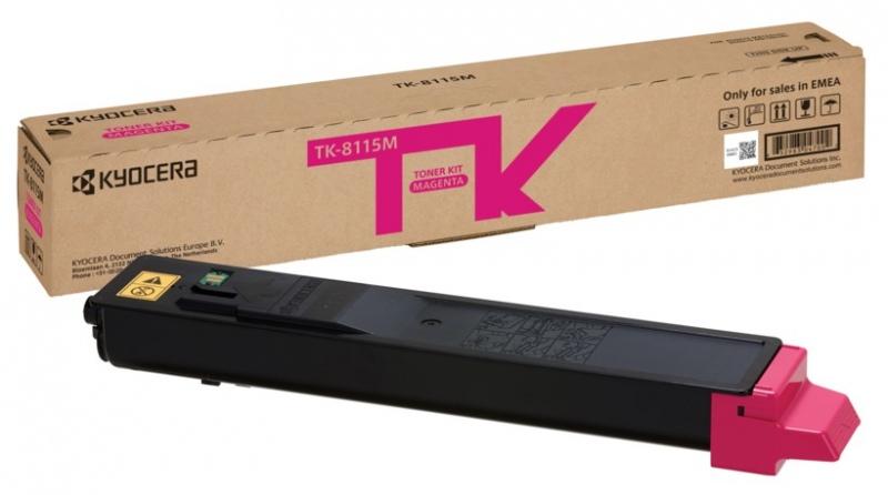 Kyocera toner cartridge magenta (1T02P3BNL0, TK8115M)