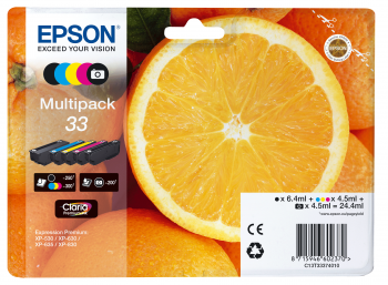Epson Ink 5 Color Multipack No.33 (C13T33374011)