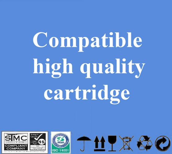 Compatible Canon BC-20 Black, 1000 p.
