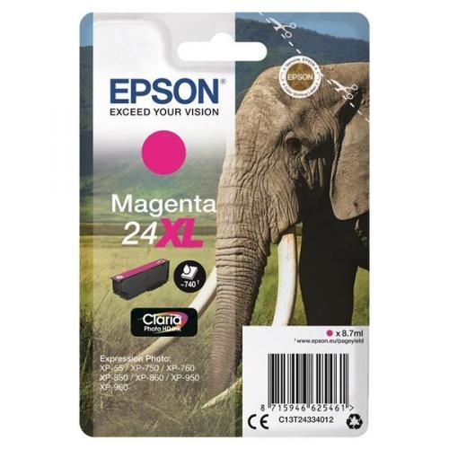 Epson Ink No.24 XL Magenta (C13T24334012)