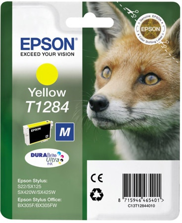 Epson Ink Yellow (C13T12844012)