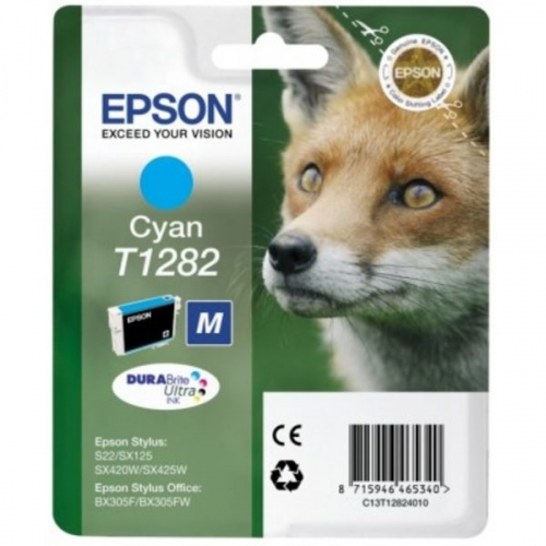 Epson Ink Cyan (C13T12824012)