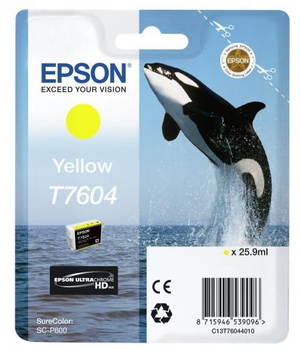 Epson Ink Yellow HC (C13T76044010)