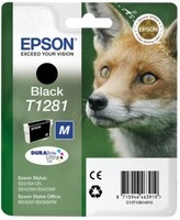 Epson (C13T12814012), juoda kasetė