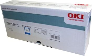 Oki Toner Cartridge Cyan ES3032, ES7411 (44318619)