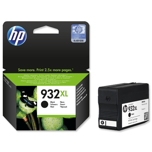 HP Ink No.932 XL Black (CN053AE)