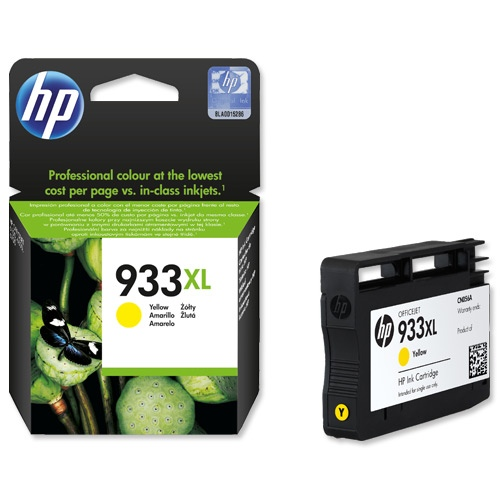 HP Ink No.933 XL Yellow (CN056AE)