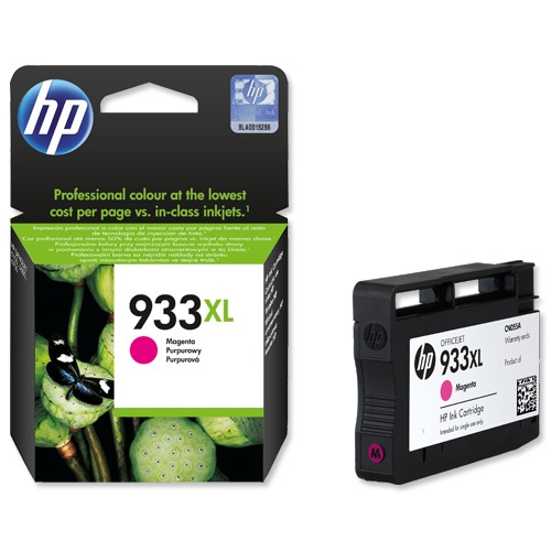 HP Ink No.933 XL Magenta (CN055AE)