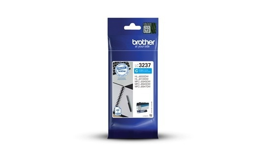 Brother Ink LC-3237 Cyan (LC3237C)