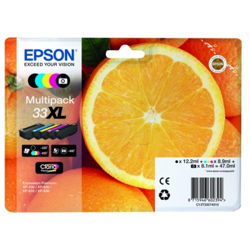 Epson Ink Multi pack No.33XL (C13T33574510)