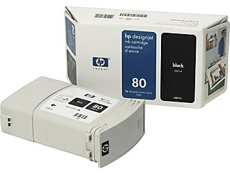 HP Ink No.80 Black (C4871A)