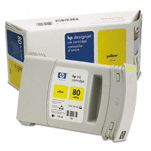 HP Ink No.80 Yellow (C4873A)