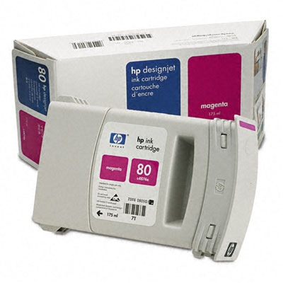 HP Ink No.80 Magenta (C4874A)