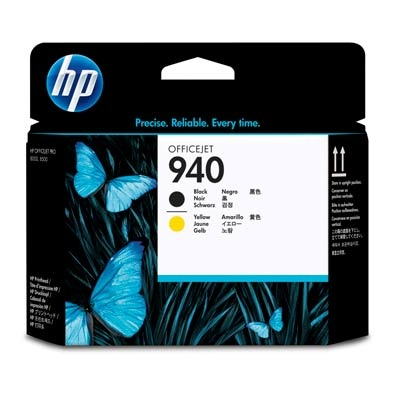 HP Printhead C4900A No.940 Black / Yellow (C4900A)
