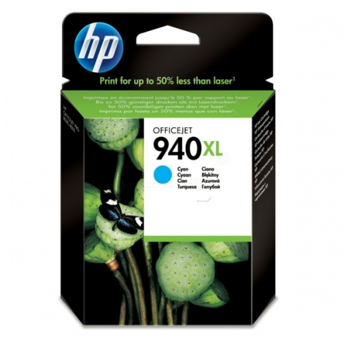 HP Ink No.940 XL Cyan (C4907AE)