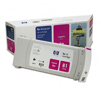 HP Ink C4932A No.81 Magenta