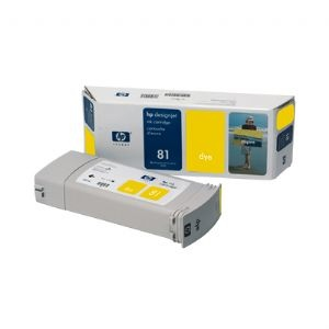 HP Ink No.81 Yellow (C4933A)