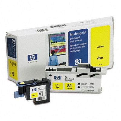 HP Printhead Yellow No.81 (C4953A)