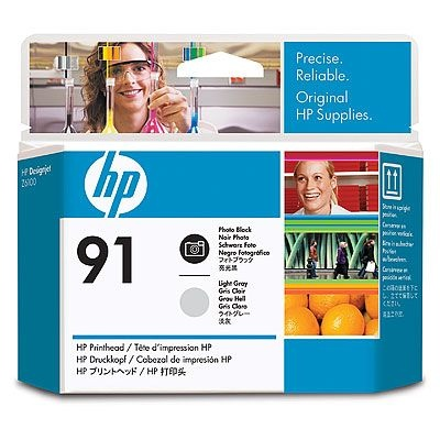HP Printhead No.91 Photo Black / Light Grey (C9463A)