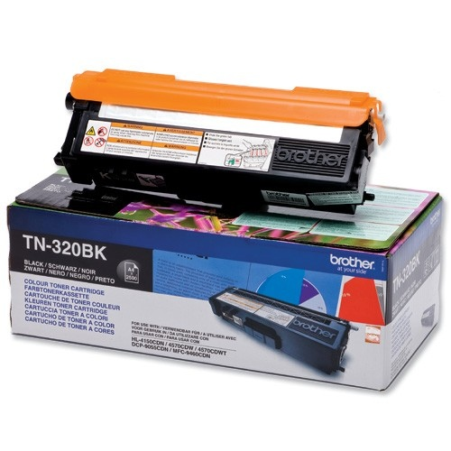 Brother Cartridge TN-320 Black (TN320BK)