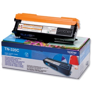 Brother Cartridge TN-320 Cyan 1,5k (TN320C)