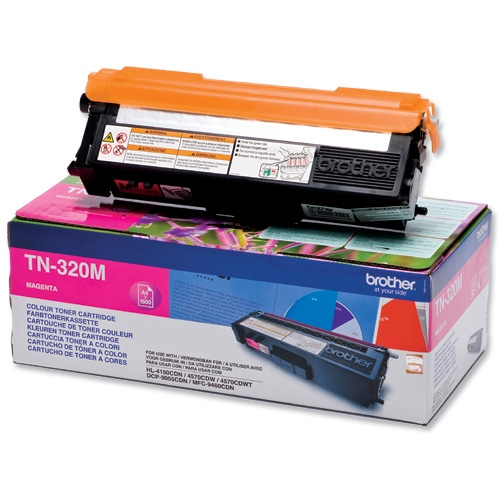 Brother Cartridge TN-320 Magenta 1,5k (TN320M)