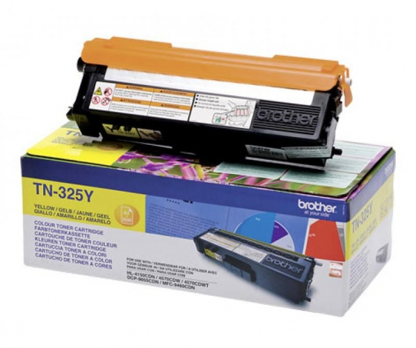 Brother Toner TN-325 Yellow (TN325Y)