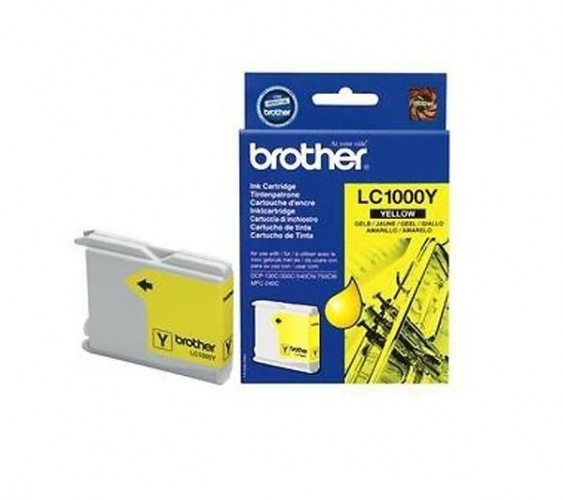Brother Ink LC 1000 Yellow (LC1000Y)