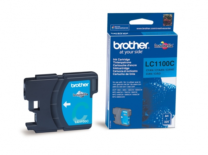 Brother Ink LC 1100 Cyan (LC1100C)