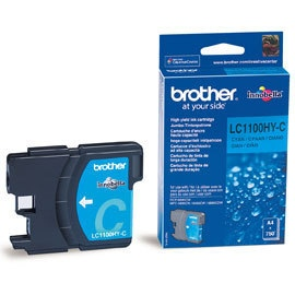 Brother Ink LC 1100 HC Cyan- (LC1100HYC)