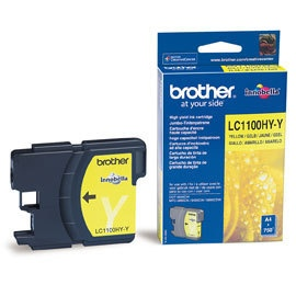 Brother Ink LC 1100 HC Yellow (LC1100HYY)
