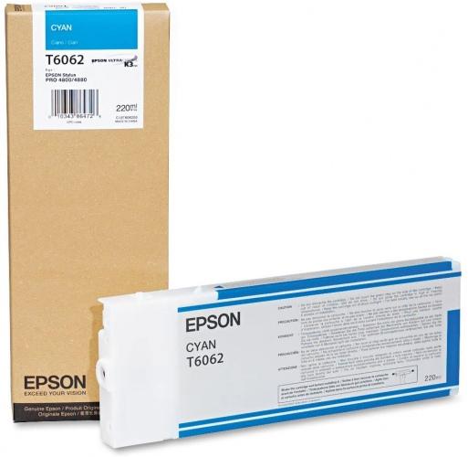 Epson Ink Cyan (C13T606200)