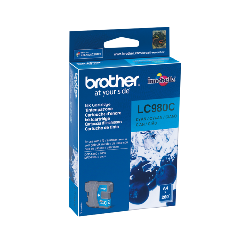 Brother Ink LC 980 Cyan (LC980C)