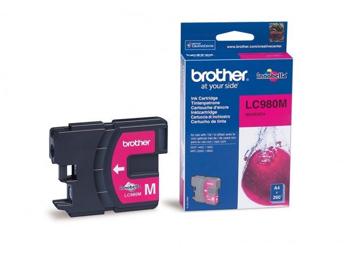 Brother Ink LC 980 Magenta (LC980M)