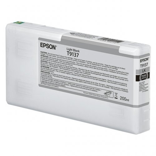 Epson T9137, (C13T913700) cartridge black