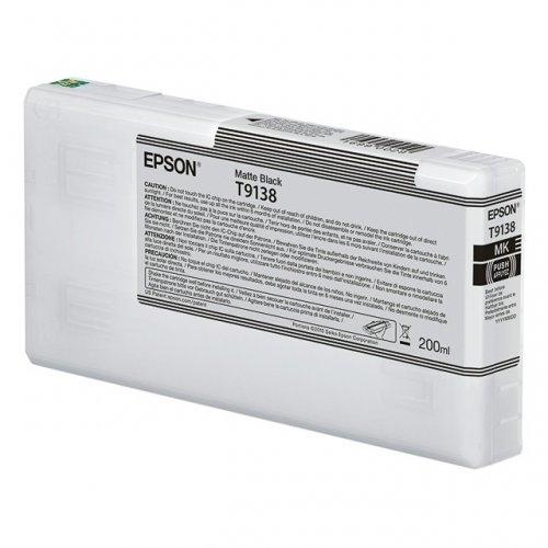 Epson T9138, (C13T913800) cartridge matte black