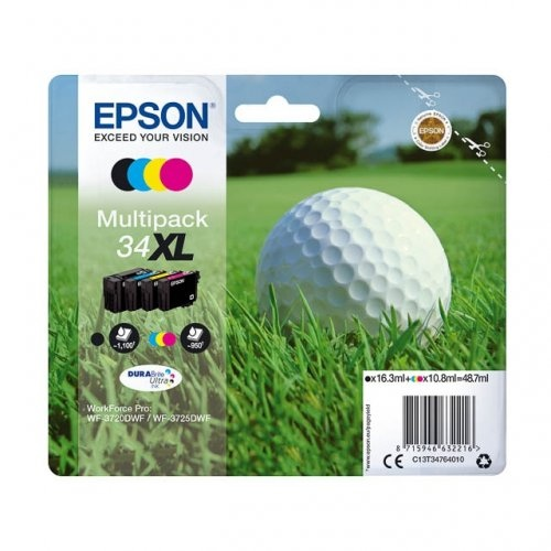 Epson Ink Color Multipack No.34XL (C13T34764010)