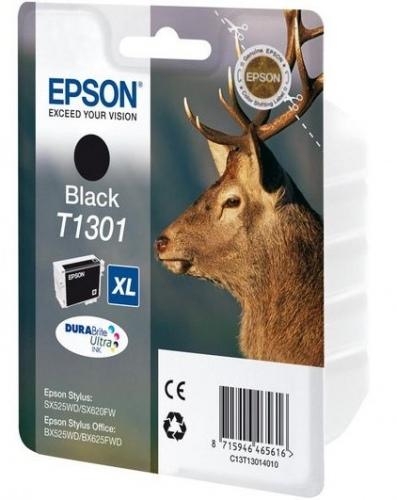 Epson T1301 (C13T13014012), juoda kasetė