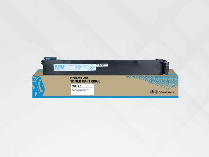 Compatible HYB Minolta TN-213/ TN-214 Cyan, 19000 p.