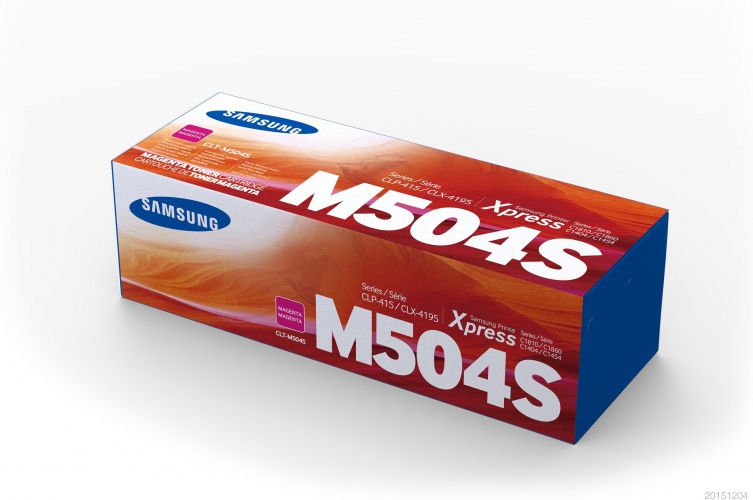 Samsung Cartridge Magenta CLT-M504S/ELS (SU292A)