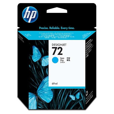 HP Ink No.72 Cyan (C9398A)