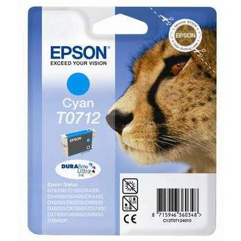 Epson (C13T07124012), žydra kasetė